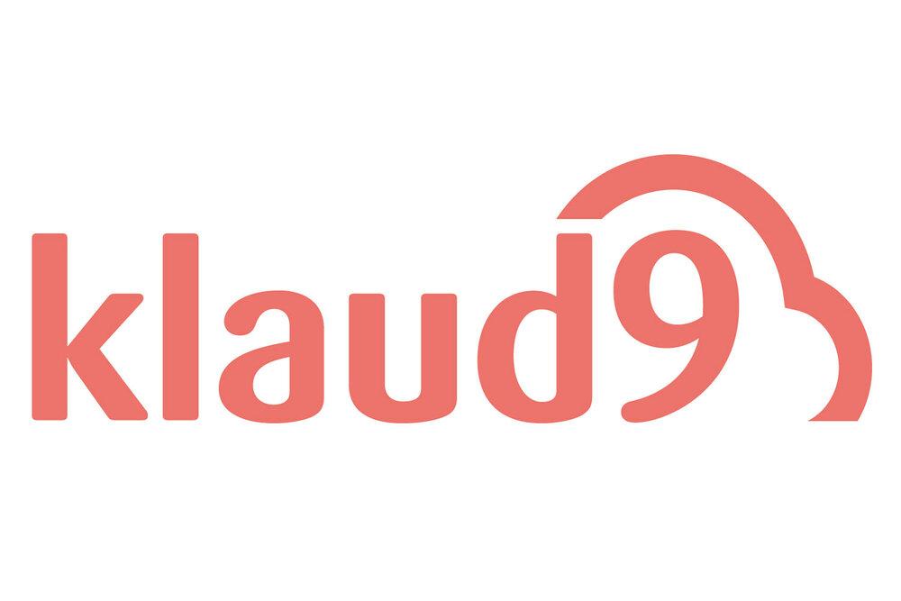 Logo de Klaud9, empresa dedicada a organizar sesiones de fotos para empresas
